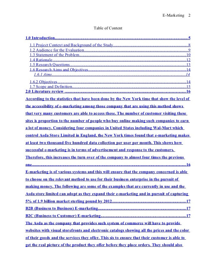 Research Paper Format Example