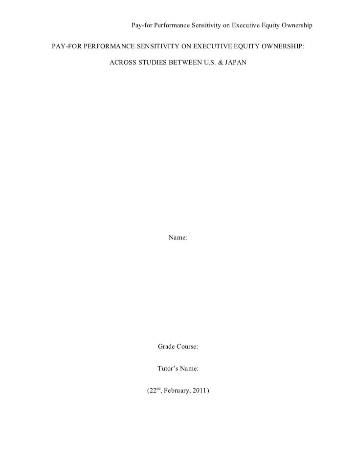 Dissertation Proposal Cover Page, A M Commerce Library Dissertation