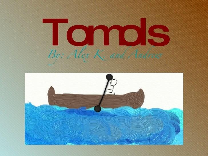 Tomols <ul><li>By: Alex K. and  Andrew </li></ul>