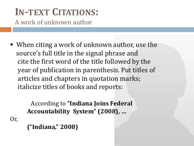 essay in-text citation bibliograpy Apa citation guide: in-text citations (how to cite within your paper.