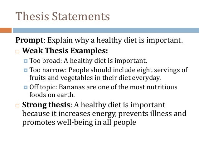 thesis statement for cause and effect