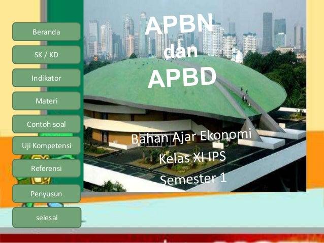 Apbn apbd