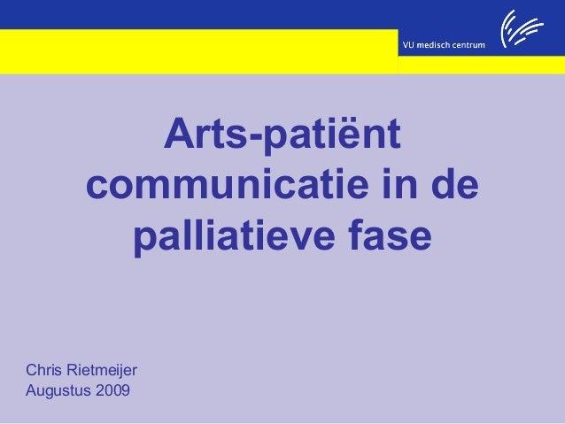 Apc   de palliatieve fase