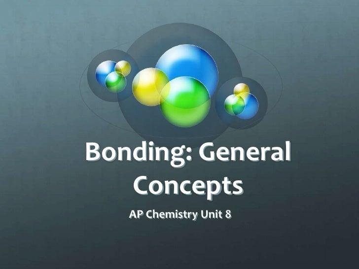 Bonding: General   Concepts   AP Chemistry Unit 8