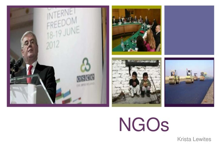 +    NGOs           Krista Lewites