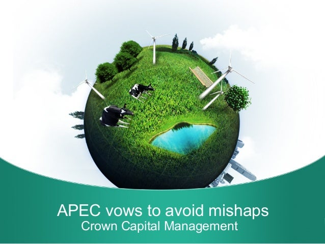 Apec vows to avoid mishaps