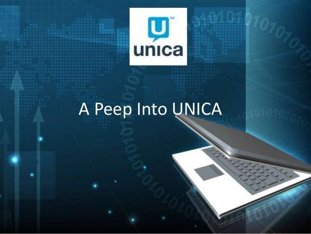 A Peep Into UNICA CAMPAIGN 8.5