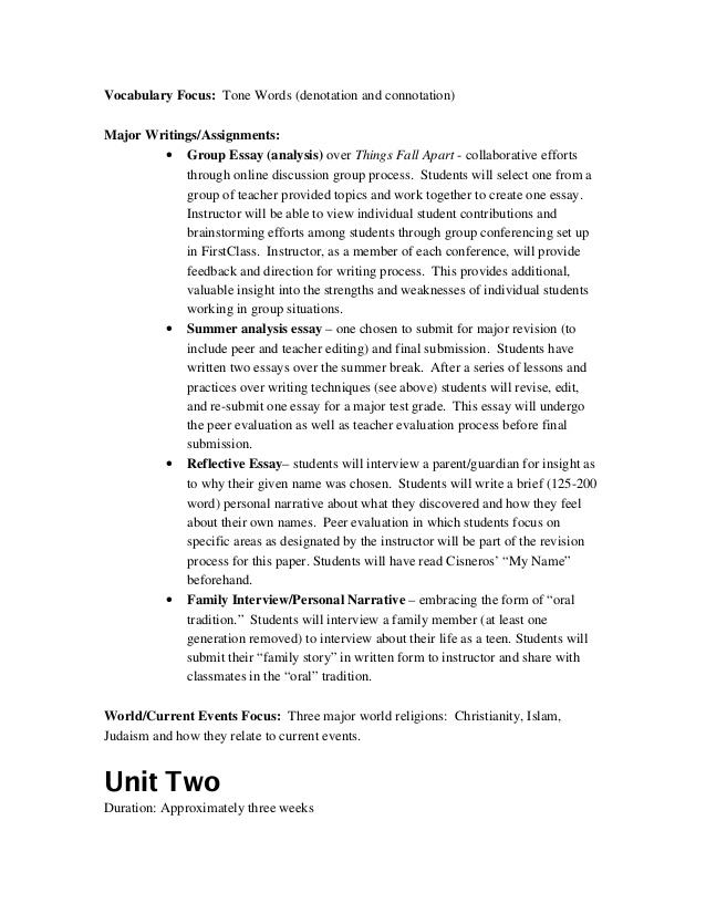 High school rhetorical analysis essay sample