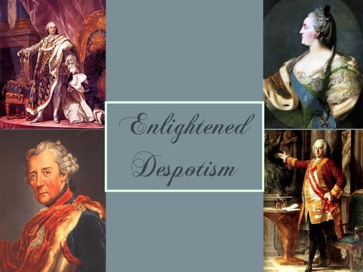 Definition of enlightened absolutism