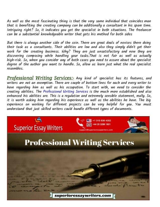 Professional Essay Writers