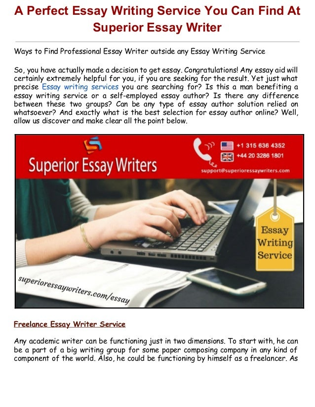 best writing essay service