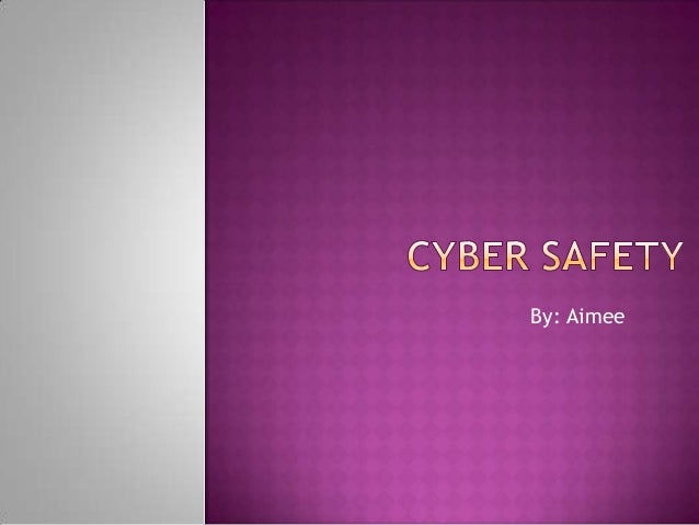Aimee on cyber safety