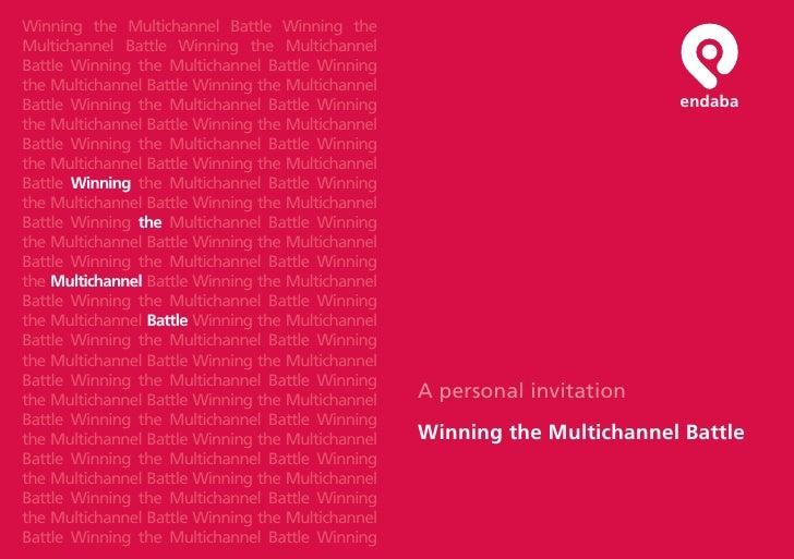 A Personal Invitation Winning The Multichannel Battle