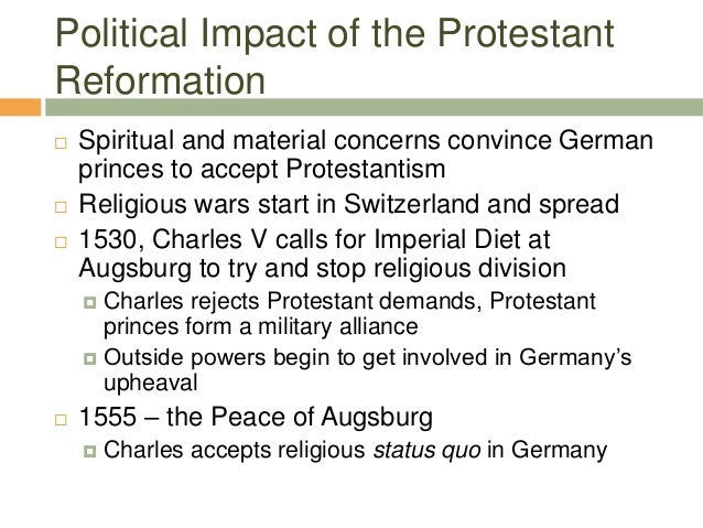 reformation causes