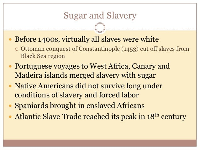 Encomienda system vs atlantic slave trade