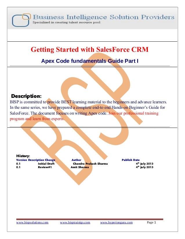 Apex code-fundamentals