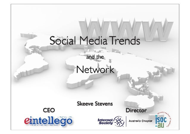 Skeeve Stevens CEO Director Social MediaTrends and the Network