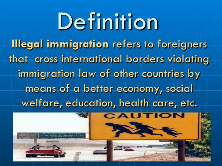 the definition of immigration essay So it is no different for an essay on immigration like any other thesis statement, a statement for your essay on immigration must be crisp, informative, and unambiguous.