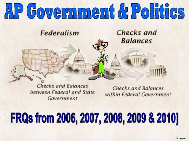 AP Government FRQs [2006-2010]