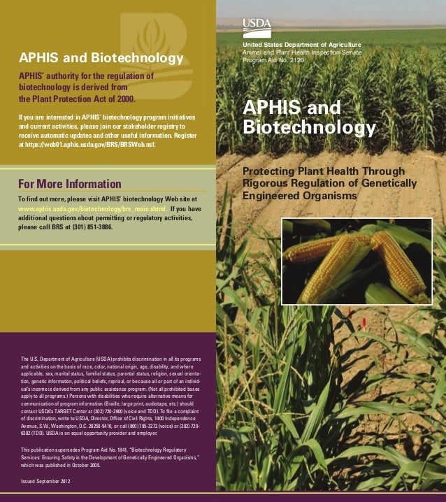 Aphis & biotechnology