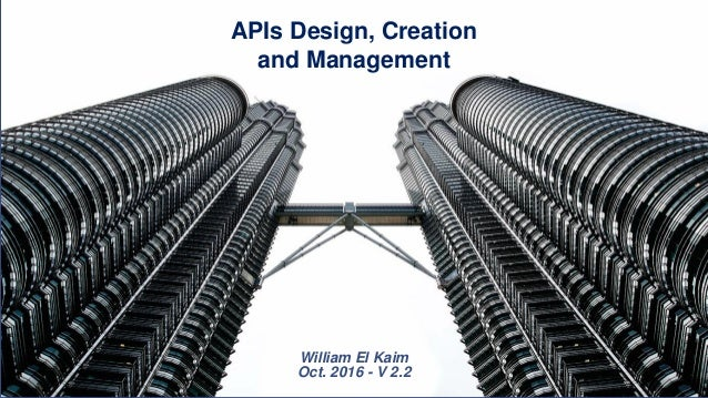 API Part 2 - creating and managing your api
