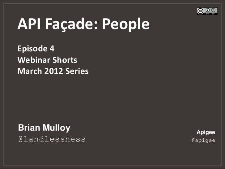 The API Facade Pattern: People - Episode 4