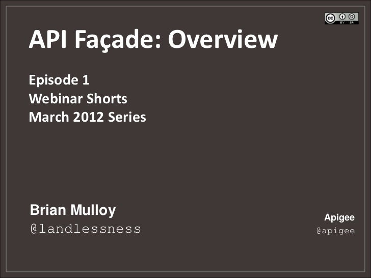 The API Facade Pattern: Overview - Episode 1