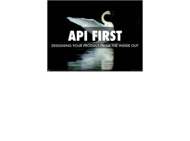 API Ninja@3scale I've worked with REST APIs since 2005 - Socialtext, Netflix, LinkedIn I spend time telling API providers ...