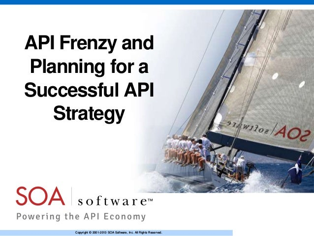 API Frenzy: The Implications and Planning for a Successful API Strategy