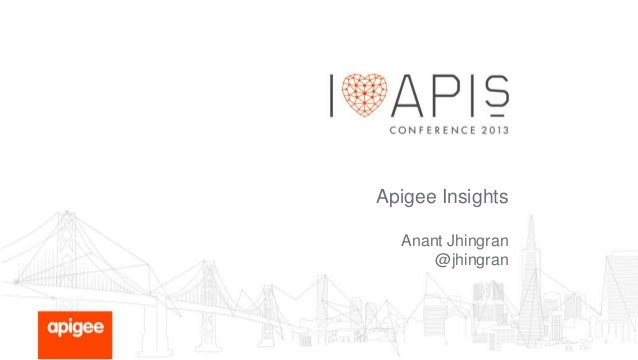 Apigee Insights: Data & Context-Driven Actions