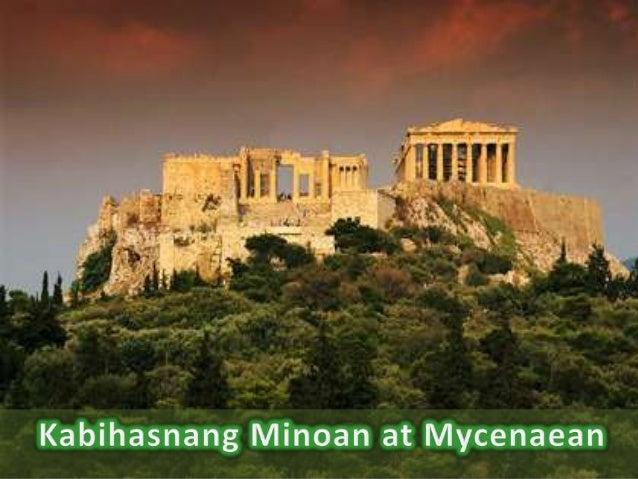 • Ang unang sibilisasyon ng bansang Gresya ay lumitaw sa isla ng Crete sa pagitan ng 3000 at 2000 BCE. Ang sibilisasyong i...