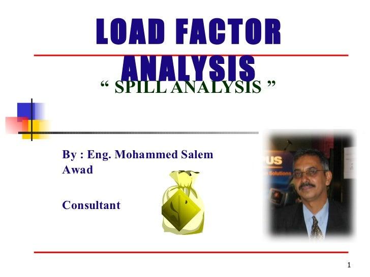 Spill Analysis
