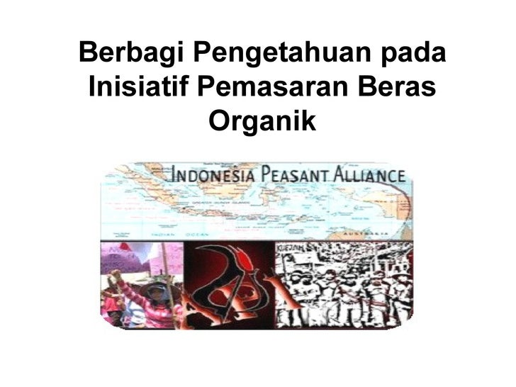 Api Marketing Presentation Organic Rice Indonesian