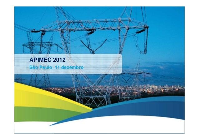 APIMEC 2012