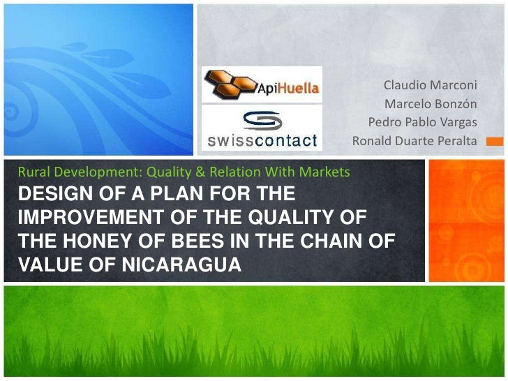 Claudio Marconi<br />Marcelo Bonzón<br />Pedro Pablo Vargas<br />Ronald Duarte Peralta<br />Rural Development: Quality & R...