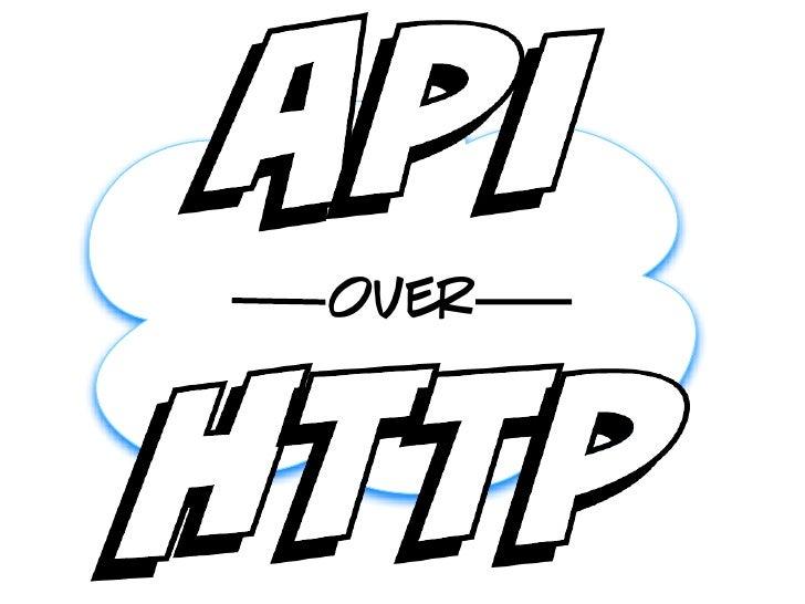 API Over HTTP