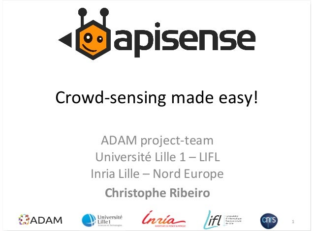 APISENSE - ISM 2013