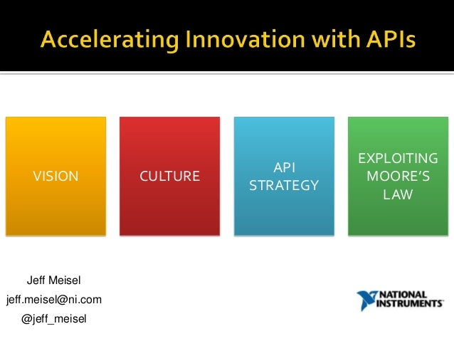 EXPLOITING                                  API    VISION           CULTURE               MOORE'S                         ...