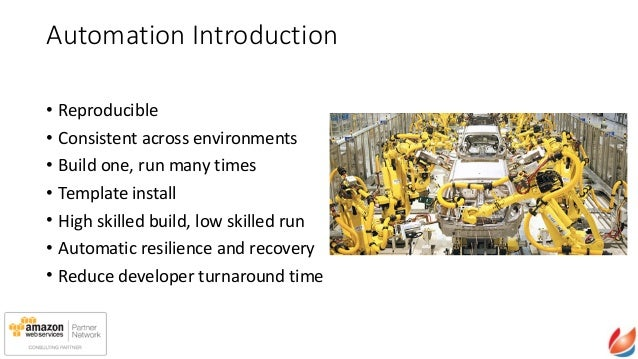 Infrastructure automation on aws using a real world for Automated templates for intros