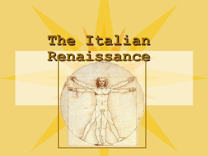 AP Italian Renaissance
