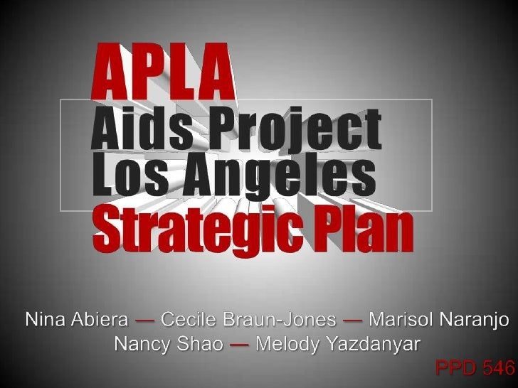AIDS Project LA Strategic Plan