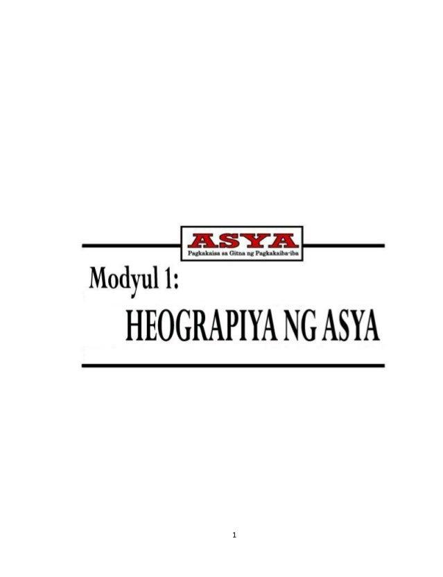 to 12 - Grade 8 Araling Palipunan Learner Module