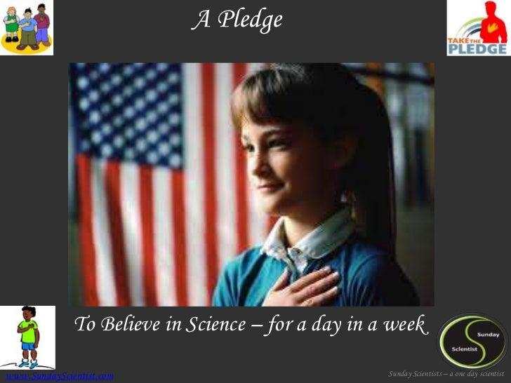 A Pledge