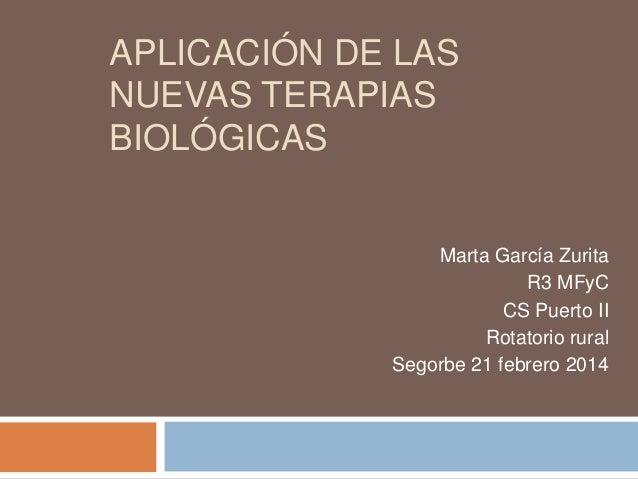 Aplicación de las terapias biológicas.1 (modificado)