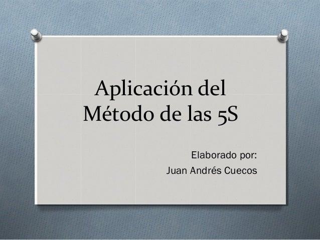 5 s aplicacion: