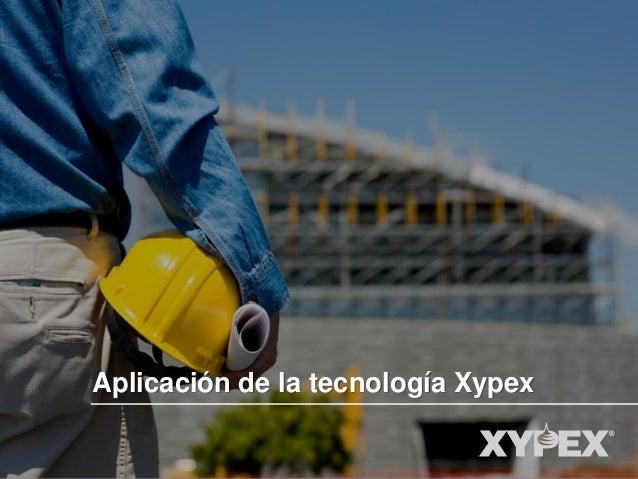 Aplicación de la tecnología Xypex