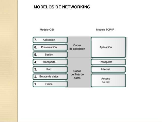 MODELOS DE NETWORKING