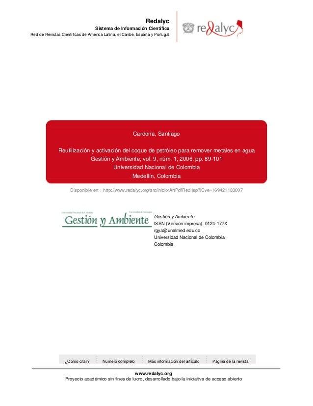 Disponible en: http://www.redalyc.org/src/inicio/ArtPdfRed.jsp?iCve=169421183007RedalycSistema de Información CientíficaRe...