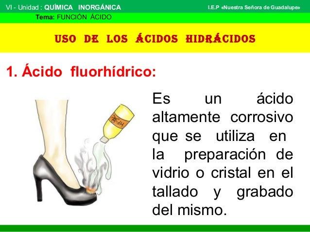 Los Acidos Los ácidos Hidrácidos 1