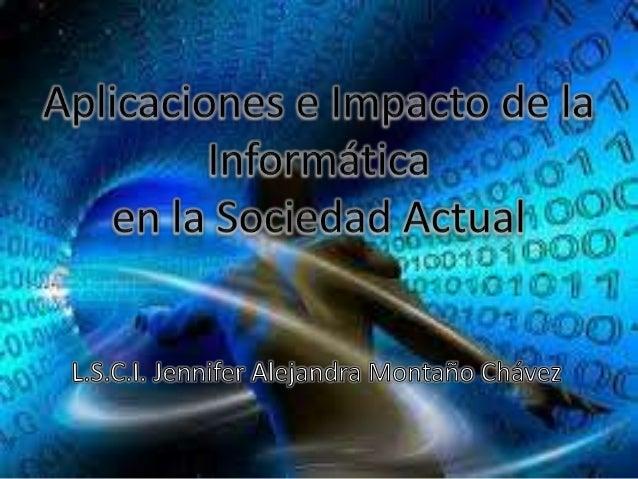 el impacto de la informatica: